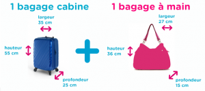 dimension bagage air france soute