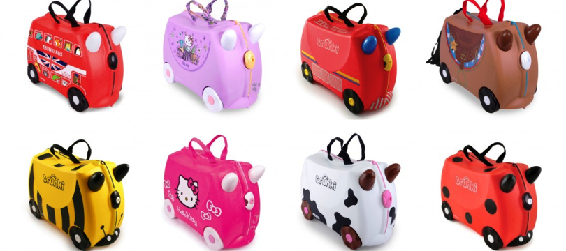 valise trunki le bagage ride on pour enfant ma valise vacances. Black Bedroom Furniture Sets. Home Design Ideas
