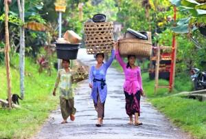 Portrait de femmes - Bali - Indonésie
