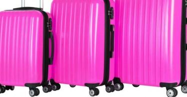 valise-rose-rouge-jaune