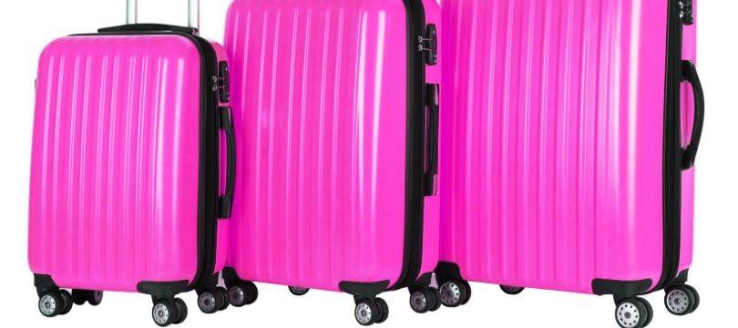 valise rouge jaune ou rose pas ch re ma valise vacances. Black Bedroom Furniture Sets. Home Design Ideas