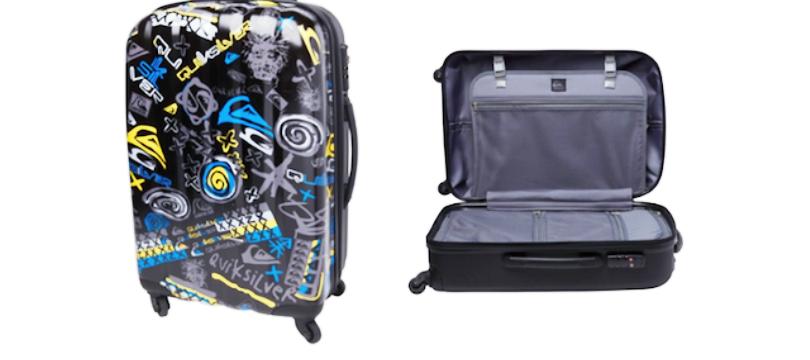 quiksilver toutes les valises test es ma valise vacances. Black Bedroom Furniture Sets. Home Design Ideas